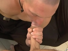 Obscene oral-sex for lusty gay