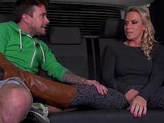 Big Titty Milf Airport Pick down and Fuck hard in Mea Melone van