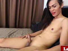 Ladyboy goddess solo bedroom calumniate