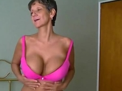 vain attempt to impregnate a 60 genre old mom, creampie