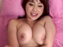 First-rate big boobs Asian babe getting hammered missionary style