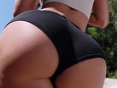 Lovely brunette Jada Stevens and her beautiful big ass