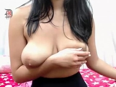 Gorgeous Brunette with Big Tits on Cam - watch more on Smutty-Cams.com