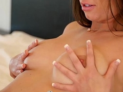 PornPros - Italian with unpractised boobs Gia Dote on fucked by muscled man
