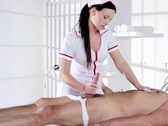 Unhealthy Natalee Nurses a Hard Cock