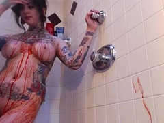 Webcam Inked Unsubtle With Red Wax - BestStreamGirls.com