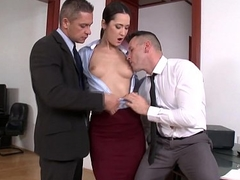 Angie Moon Double penetration