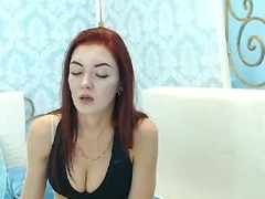 Slut Young Redhead Teen masturbates Love tunnel on cam - GirlTeenCams.com