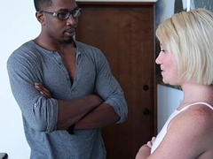 TeensLoveBlackCocks - Horny Blonde Teen Brutally Fucked By BBC