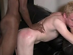 White Teen Boy Get His Ass Screwed By Big Gay Black Gumshoe 21