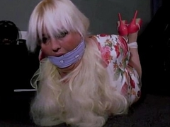 Double Cleve Ball-gagged Session