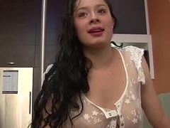 Public pickup latina jizz