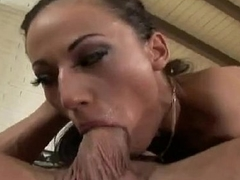 Latina MILF Rough Ass fucking Above Couch