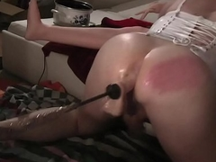 Anal machine tranny fucking ts tv self make the beast with two backs spanking assfuck dildo stretching 2