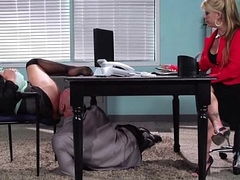 Big Tit Caucasian Slut Banged At The Office 7