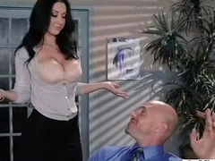 Big Round Tits Girl (jayden jaymes) Succeed in Everlasting Group-fucked In Assignment movie-22