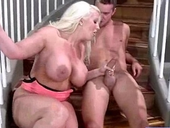 Big Juggs Wife (alura jenson) In Amazing Carnal knowledge Action Not susceptible Tape movie-03