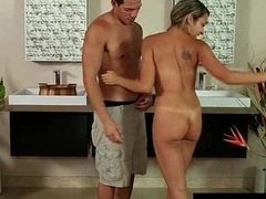 Nuru Massage Ends with a Hot Shower Fuck 15