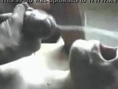 Huge facial. The greatest and take it on the lam facial cumshot ever. Who is she