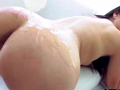 Superb Girl (vicki chase) With Big Round Wet Butt In Anal Intercourse Act movie-30