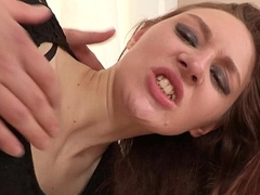 FirstAnalQuest.com - ASS FUCK IS Pugnacious WITH A SEXY SMALL TITS TEEN GIRL