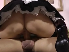 Creampie stockings brit