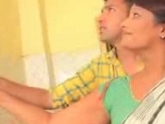 Youthful Varlet Caught Desi Aunty In Kitchen !! low