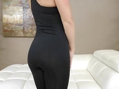 Abby Cross undressing and showing off her perfect buttocks - www.pornoever.xyz