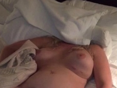 blond wife sleeping nude