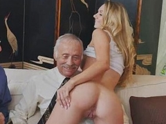 Blonde Teen Molly Mae Pussy Fingered By Duo Old Dudes
