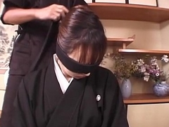 Subtitled mourning Japanese wife Aya Otosaki debt payback